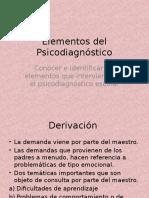 Elementos diagnostico