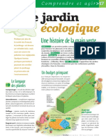 Infographie Carrefour - Le jardin écologique - Mai/Juin 2005