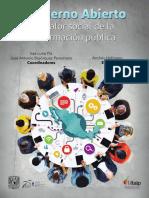 Fofmann, Andres (2016). Gobierno abierto. El valor social de la información pública.pdf