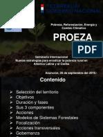 Pobreza, Reforestación, Energía y Cambio Climático