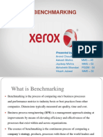 Benchmarking Case Study Ppt