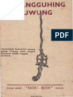 Panangguhing Duwung - (Ilmu Penangguhan Keris)