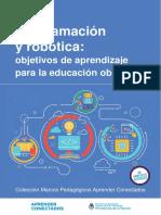 Programacionyrobotica Objetivos de Aprendizaje Para La Educacion Obligatoria