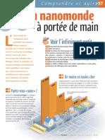 Infographie Carrefour - Un Nanomonde à Portée de Main - Novembre 2004