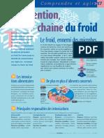 Infographie Carrefour - La Chaîne Du Froid - Juillet - Août 2004