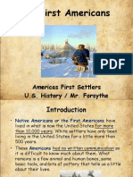 1 - the first north americans