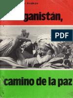 Afganistan, camino de la paz