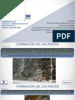 Geotecnia I-Unidad 3.1- Formacion de Rocas