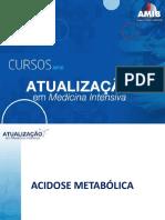 18) Acidose Metabolica- CAMI 2018
