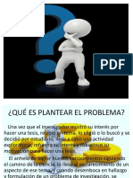 5. Planteamiento Del Problema