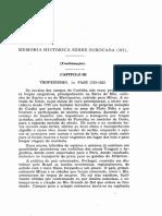 MEMÓRIA HISTÓRICA SOBRE SOROCABA - III