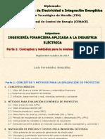 Ingeniería Financiera Aplicada a La Industria Eléctrica