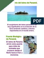 Surgimiento Del Istmo de Panamá.