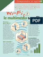 Infographie Carrefour - Wifi, Le Multimédia Sans Fil - Avril 2004
