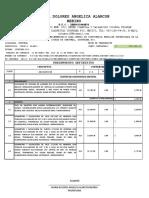 Catalogo de Conceptos de Presupuesto Definitivo