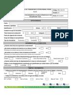 Anexo 7 Encuesta Diagnostico Pesv