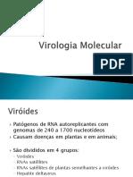 Virologia Molecular 4a aula Viróides