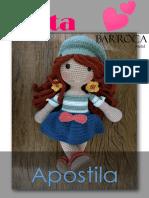 BEBÊ ASIÁTICO- Boneca Amigurumi padrão grátis - Feltro e moldes ... | 198x149