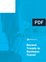 Recent Trends in Business Travel