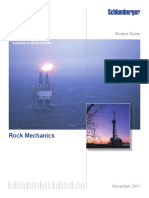Rock Mechanics Student manual