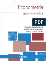 Garcia Fernandez, Rosa Maria - Econometria _ Ejercicios Resueltos