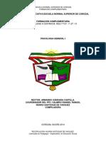 Modulo Psicologia General II- 2019