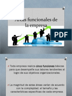 Reas Funcionales de La Empresa (1)