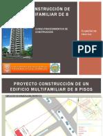 Construccion de Un Edificio 8 Pisos. 1ra Parte.2019
