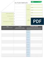 IC One Page Financial Plan Template 9036 PDF