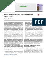 Desenvolvimento de Liderança