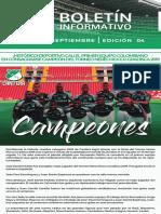 Boletín Informativo Agosto Septiembre Asociados