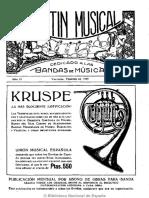 Boletín musical dedicado a las bandas de música. 2-1929, no. 15