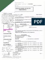 Arrêt d'Aigremont C.A Aix en Pce 18 mai 2012