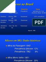 SILICOSE NO BRASIL - Apresentação PowerPoint