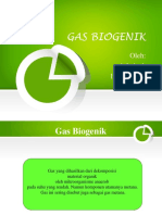 Ppt Gas Biogenik