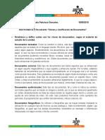 Clases y Clasificación de Documentos