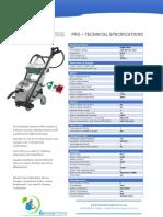 Drysteam Minivap Technical Specs 2017 2