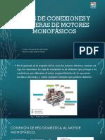 Cajas de Conexiones y Borneras de Motores Monofásicos