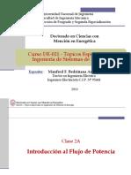 De-021 - Clase2A - Introducción Al Flujo de Potencia 2019-II