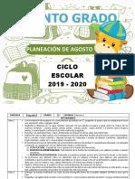 00 Agosto - 5to (2019-2020)
