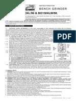 manual de pulidora