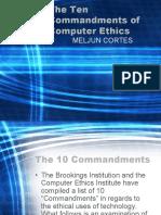 MELJUN CORTES--Computer TEN Commandments