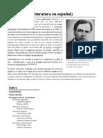 Modernismo (Literatura en Español)