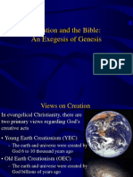 Creation and Bible