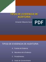 6 Tipos de Evidencias de Auditoria