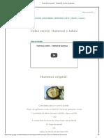 Festival de Hummus - Chefpañol, Cocina de Guerrilla