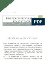 DISEÑO DE PROGRAMAS EDUCATIVOS 2018.pptx