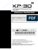 Manual Roland XP-30 Português-PDF