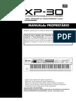 Manual Roland XP-30 Português-PDF
