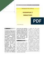 Eosinofilia y endoparasitos